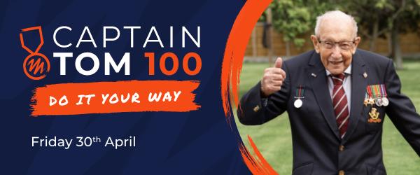 The Captain Tom 100 Challenge.